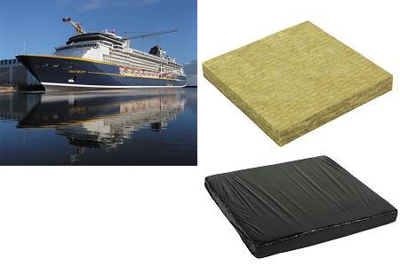 Arly transformation de mat riaux isolants for Laine de roche acoustique